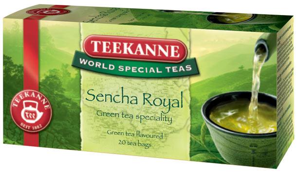 S čajem Sencha Royal od Teekanne můžete prožít kousek svěží jarní přírody také u vás doma