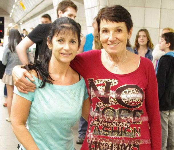Helena Jarkovská a Věra Macošková