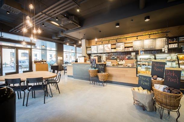 Starbucks otevírá novou kavárnu v pražském Karlíně