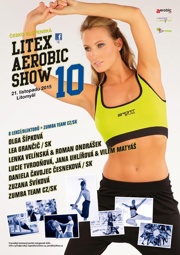 10. ročník Litex aerobic show bude opět plný hvězd