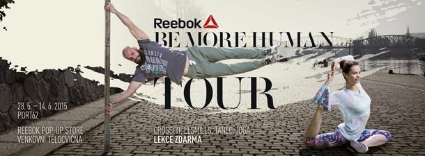 Reebok BeMoreHuman Tour 2015