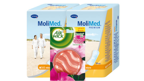 Dvojbalení MoliMed s vůní Air Wick: svěžest pro vaše tělo i domov