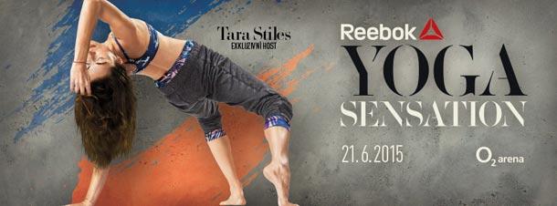 Vyhrajte vstupenky na Reebok Yoga Sensation 2015
