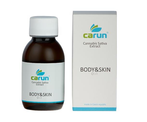 Pleťový a tělový olej Carun