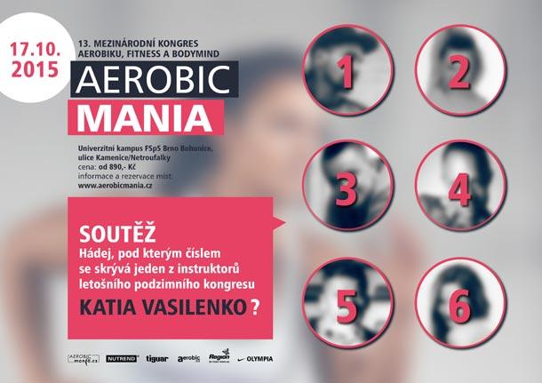 AEROBICMANIA - 13. Mezinárodní kongres aerobiku, fitness a Body&mind