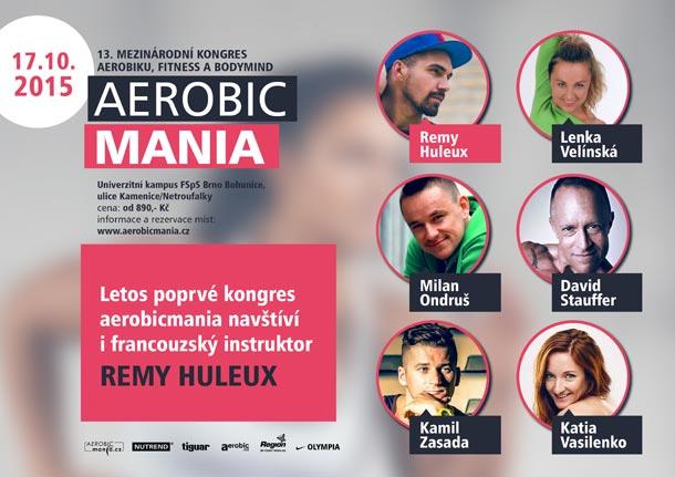 Poslední kolo soutěže o vstupenky na podzimní i jarní kongres Aerobicmania
