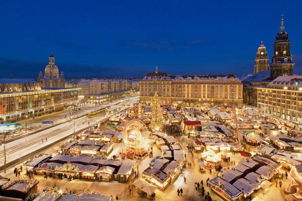 Tradiční Vánoce v Drážďanech