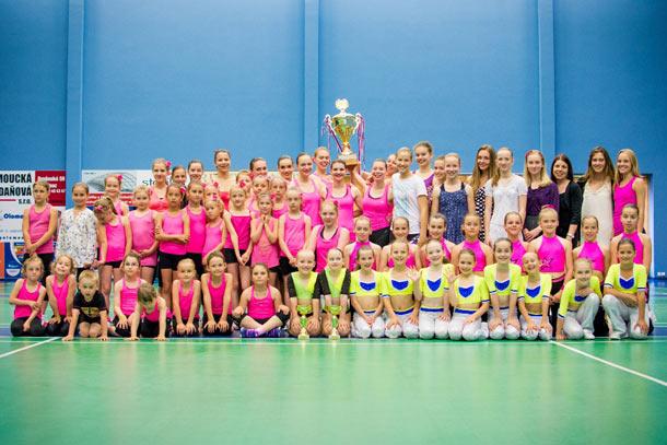 AK Olomouc - vítězný klub celorepublikové soutěže Mistry s Mistry 2015