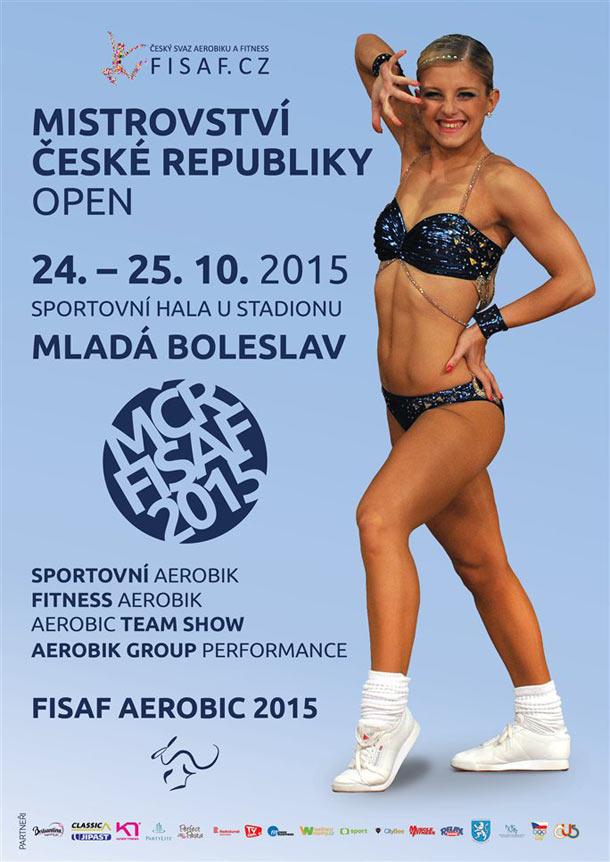 Špičky českého sportovního aerobiku se utkají na mistrovství České republiky 24. – 25. října 2015 v Mladé Boleslavi