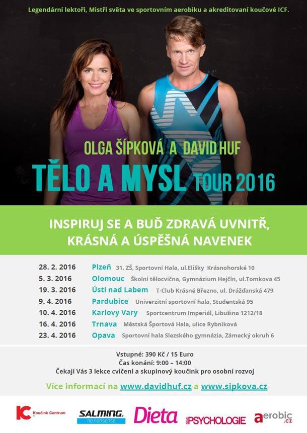 Tělo a Mysl Tour 2016