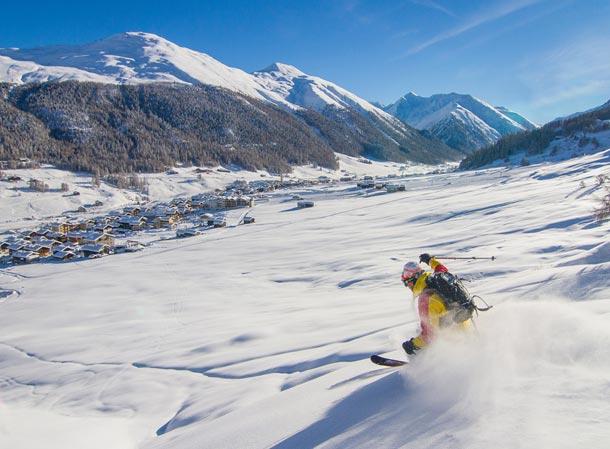 Italský zimní ráj Livigno zahájil zimní sezónu