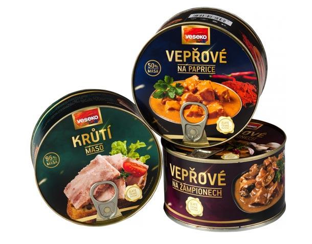 Značka Veseko přináší na trh novinky v segmentu konzervovaných hotových pokrmů