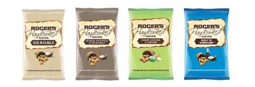 Ručně vyráběné brambůrky Roger's
