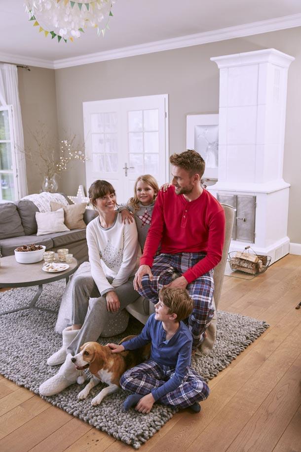 Rodinná pohoda a radostné očekávání Vánoc s Tchibo