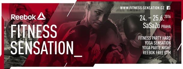 Soutěž: Vyhrajte vstupenky na Reebok Fitness Sensation 2016 -  Fitness Party Hard!