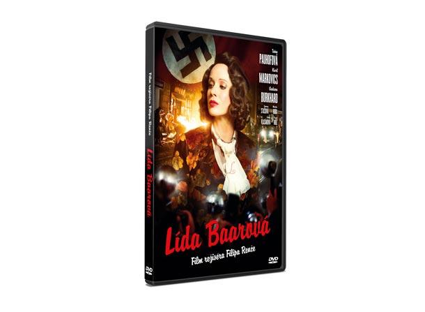 DVD s filmem Lída Baarová