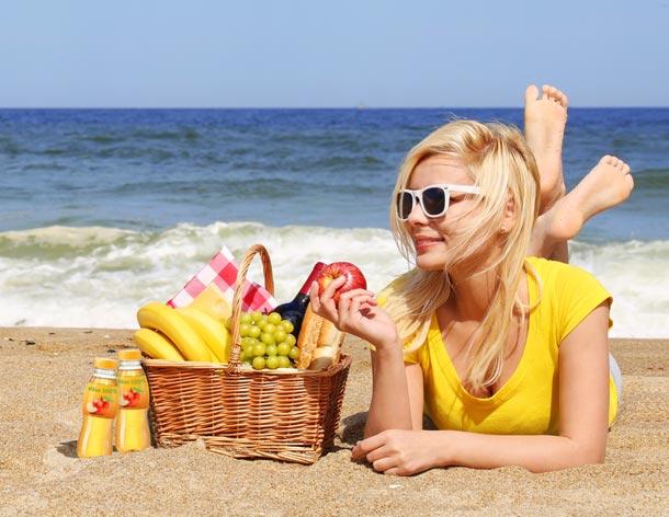 Odlehčete si v létě svůj jídelníček!