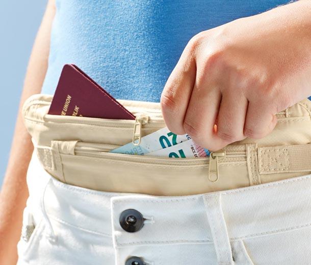 Zabalte se prakticky a bezpečně na dovolenou s cestovními doplňky Tchibo