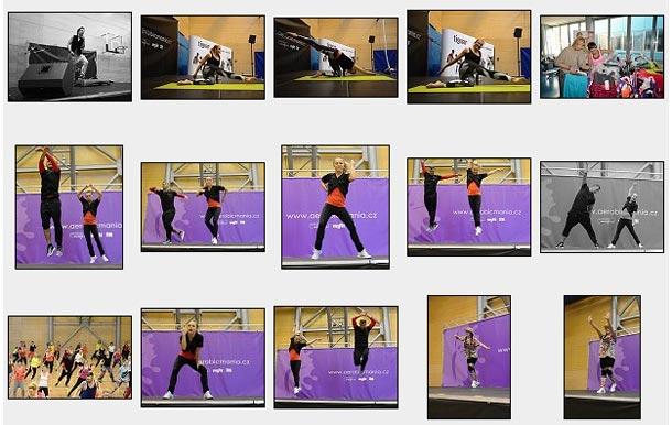 Fotogalerie: Aerobicmania 14.mezinárodní kongres aerobiku, fitness a bodymind
