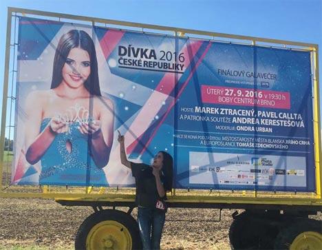 Klára Melišíková, Dívka ČR 2015 - zamyšlení nad cestou pro korunku