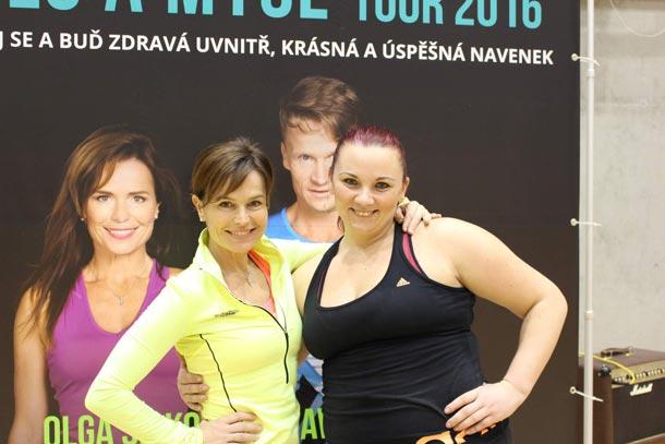 Edita Jemelková o akci Tělo a Mysl Tour 2016  v Olomouci