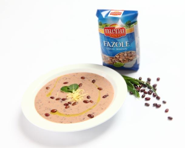 Fazolová polévka s kokosovým mlékem a zázvorem