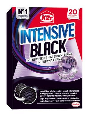 Novinka K2r Intensive Black – pro ještě větší intenzitu tmavých barev