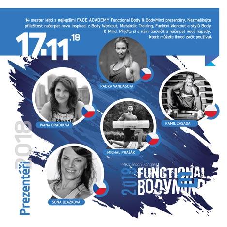 První výjimečný ročník mezinárodního kongresu Functional Body&BodyMind 2018