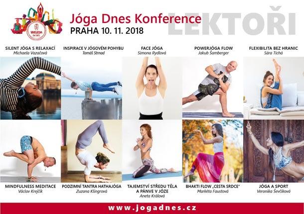 Nikol Maio: Jóga Dnes Konference v Praze