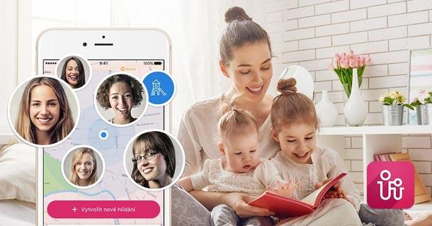 Pokud patříte mezi rodiče, kde babičky z nějakého důvodu nefungují, využijte aplikaci Babysitting.today