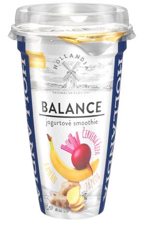 Znáte nové jogurtové smoothie Balance od Hollandia?