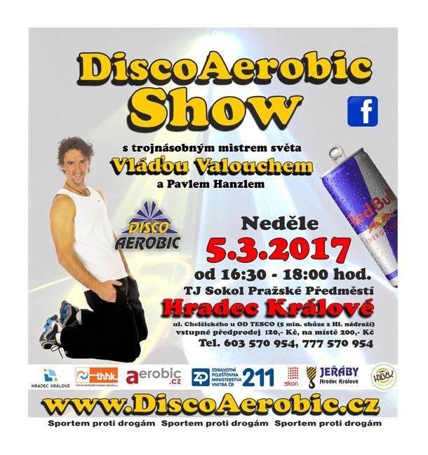 Soutěž: Vyhrajte vstupenky Laserová DiscoAerobic Show s Vláďou Valouchem
