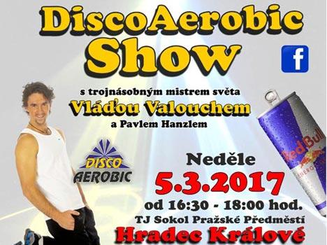 Soutěž: Vyhrajte vstupenky na Laserová DiscoAerobic Show s Vláďou Valouchem