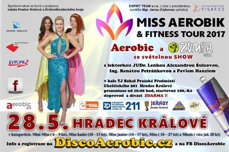 28. května 2017 - Miss Aerobik & Fitness Tour 2017