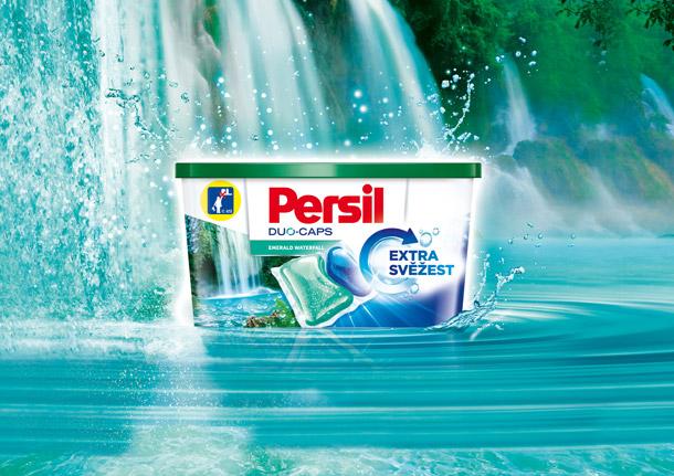 Persil Duo-Caps Emerald Waterfall -  extra svěžest a perfektní výsledek při každém praní
