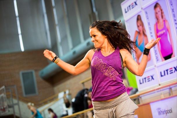 Daniela Čavojec Česneková – rozhovor před Litex aerobic show o Zumba fitness a nadšení,  které trvá již deset let