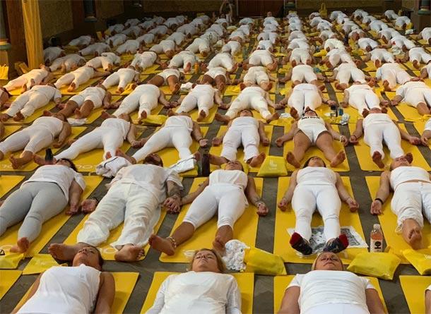 Sacre Coeur patřila jogínům