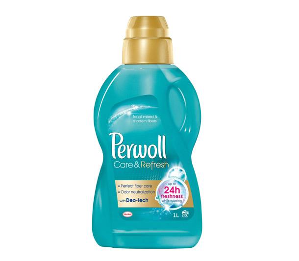 Nový Perwoll Care &Refresh přichází na trh s jedinečnou Deo technologií, která funguje na principu deodorantu