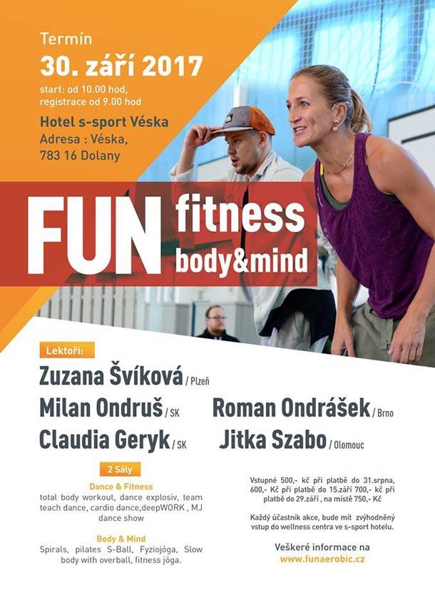 FUN fitness body & mind Jiřinky Skřivánkové: NA CO NOVÉHO SE MOHOU LETOS NÁVŠTĚVNÍCI TĚŠIT?