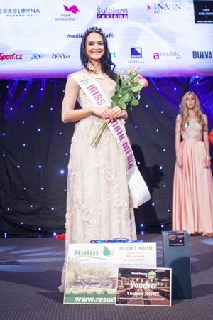 Miss aerobik Sympatie Kateřina Kautská