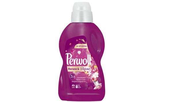 Nový prací gel Perwoll Renew & Blossom s funkcí 3v1
